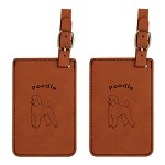 Poodle Luggage Tag 2 Pack L3747