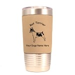 3804 Rat Terrier Standing Dog Standing #1 20 oz Polar Camel Tumbler with Lid Personalized with Your Dog's Name