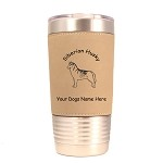 3975 Siberian Husky Standing #1 20 oz Polar Camel Tumbler with Lid Personalized with Your Dog's Name