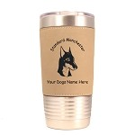 4138 Standard Manchester Head #1 20 oz Polar Camel Tumbler with Lid Personalized with Your Dog's Name