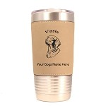 4193 Vizsla Head #1 20 oz Polar Camel Tumbler with Lid Personalized with Your Dog's Name