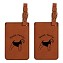 Welsh Terrier Luggage Tag 2 Pack L4209