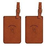 Xolotizcuintli Luggage Tag 2 Pack L4247