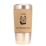 4255 Yorkie Head #2 20 oz Polar Camel Tumbler with Lid Personalized with Your Dog's Name