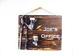 8x10 Fishing Poles on Wood Design Personalized Wall or Door Sign