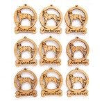 Anatolian Dog Ornament Minis - Set of 9