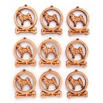 Finnish Spitz Ornament Minis - Set of 9