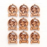 Keeshond Ornament Minis - Set of 9